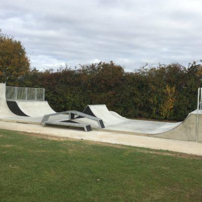 Completed Skate Park 2 Oct 16