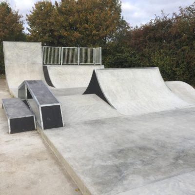 Completed Skate Park 4 Oct 16