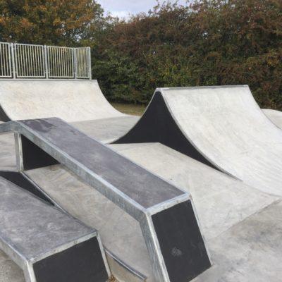 Completed Skate Park 5 Oct 16
