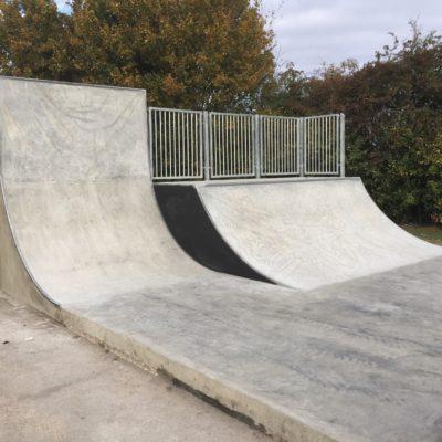 Completed Skate Park 6 Oct 16