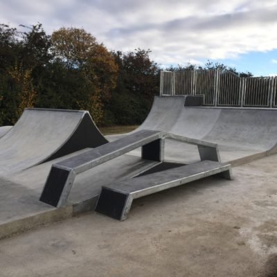 Completed Skate Park 7 Oct 16